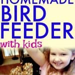 DIY Bird Feeder Recipe Craft for Kids