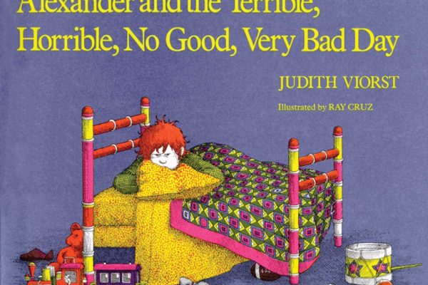 Alexander and Terrible Horrible Children's Book
