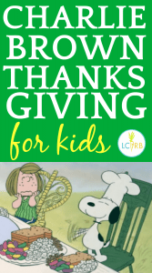 Charlie Brown Thanksgiving Dinner Party for Kids