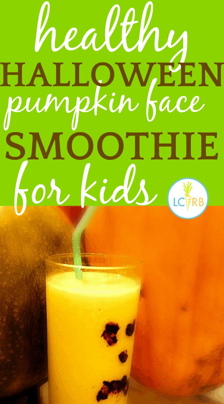 ids' Halloween Drinks: Pumpkin Face Halloween Smoothie Recipe