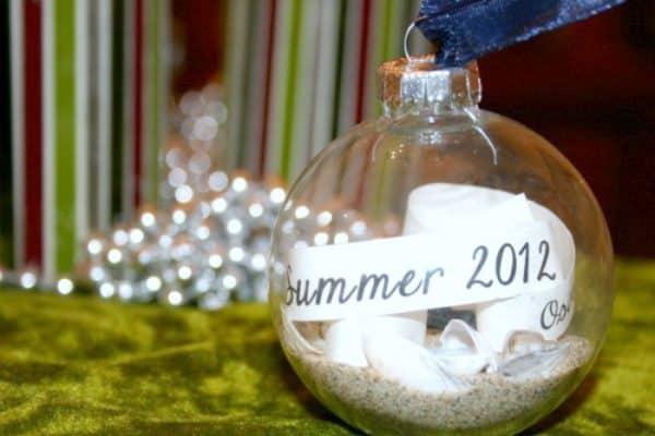 DIY Christmas Gift Ornament