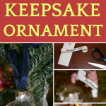 step by step pictures of making a diy christmas gift ornament
