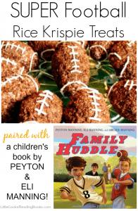 Football Chocolate Rice Krispie Treats