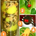 4 Crawly Cute Bug Theme Snacks