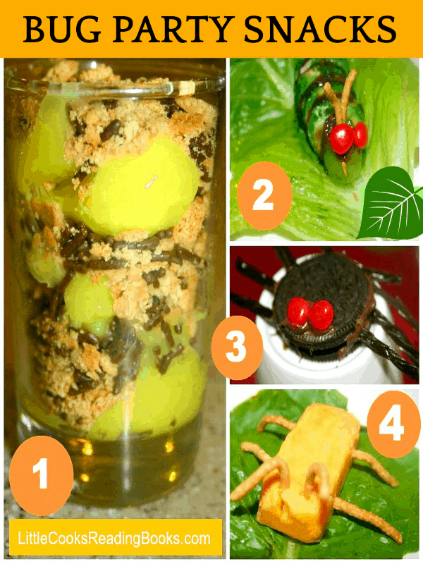 Bug Party Theme Snacks