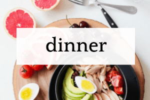 Dinner for Kids healthy dinner bowl with chicken avocado boiled egg and fruit