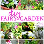 Fairy Container Garden Instructions for Kids