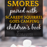 How To Make Smores graham crackers marshmallows chocolate in front of a camp fire