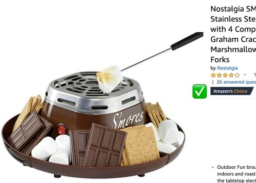 How To Make Smores Indoor Smores Kit