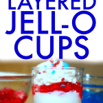 How to make layered jello cups