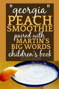 Peach Smoothie Recipe peach smoothie in glass garnished with a piece of peach