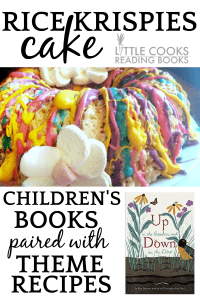 Rice Krispies Cake Paired With Theme Children's Book