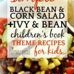 Simple Black Bean and Corn Salad Recipe for Kids