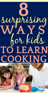 8 Surprising Places To Find Cooking Classes for Kids 3 kids learning over a table making cookies
