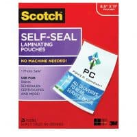 Self Sealing Laminating Pouches