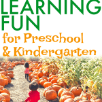 All About Pumpkins Preschool and Kindergarten