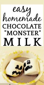 Easy Homemade Chocolate Milk (Monster Milk)