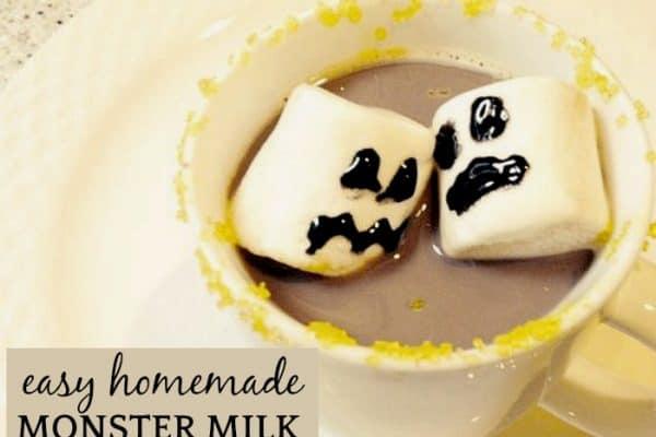 Easy Homemade Chocolate Milk
