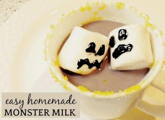Homemade Chocolate Milk (Monster Milk Drink)