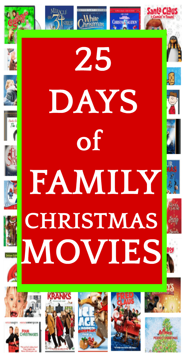 25 Days of the Best Christmas Movies for Family Time