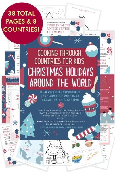 Christmas holidays around the world printable