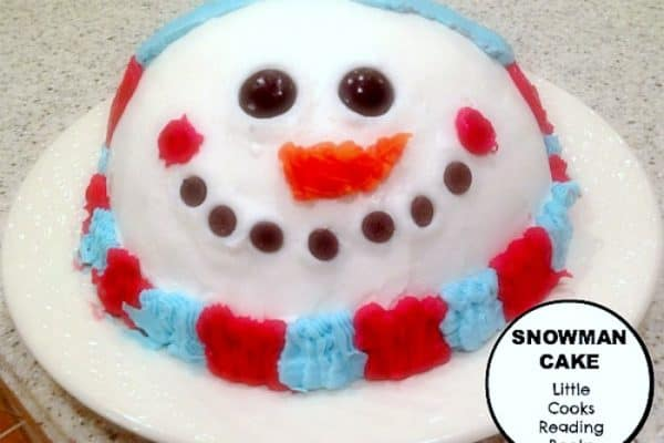 Easy Snowman Cake Without Fondant