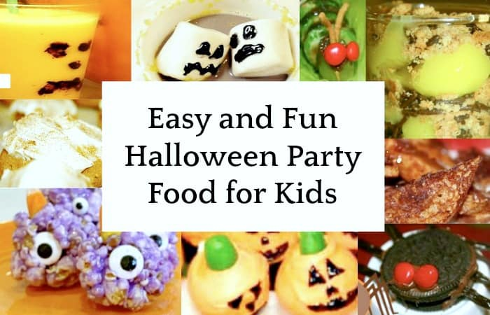 Easy and Fun Halloween Party Food for Kids