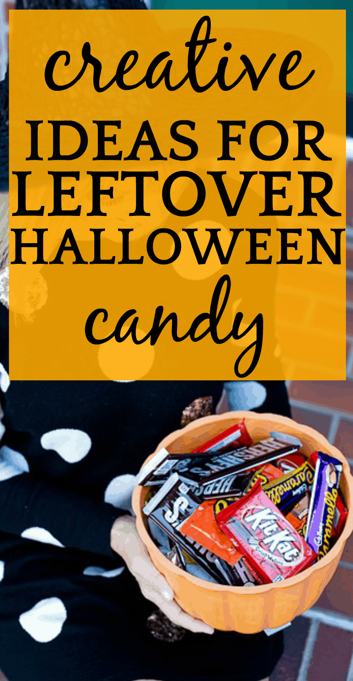 What To Do With Leftover Halloween Candy?