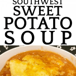 Southwest Crock Pot Sweet Potato Soup with Chicken