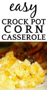 Corn Casserole Recipe in a Crockpot