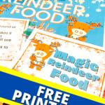 Magic Reindeer Food Printable Free and Reindeer Dust Recipe