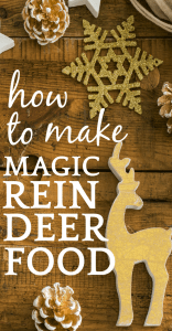 Recipe for Reindeer Food (Animal and Environment Friendly)