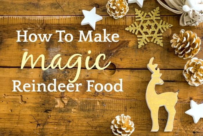 Recipe for Reindeer Food