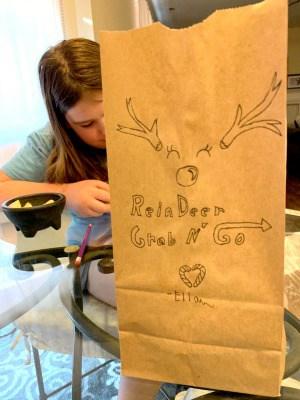 Reindeer Food Recipe Bag