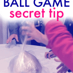 Saran Wrap Ball Game Secret Tip