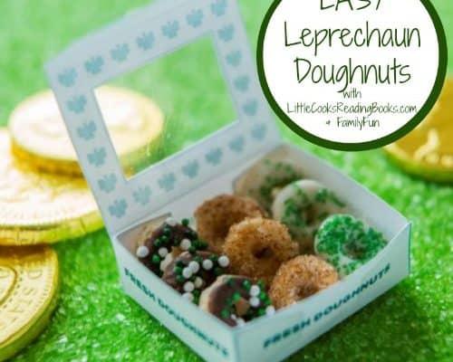 St Patricks Day Treat Leprechaun Doughnuts