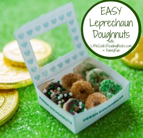 St Patricks Day Treat Leprechaun Doughnuts
