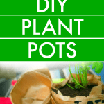 How To Make DIY Plant Pots for Kids