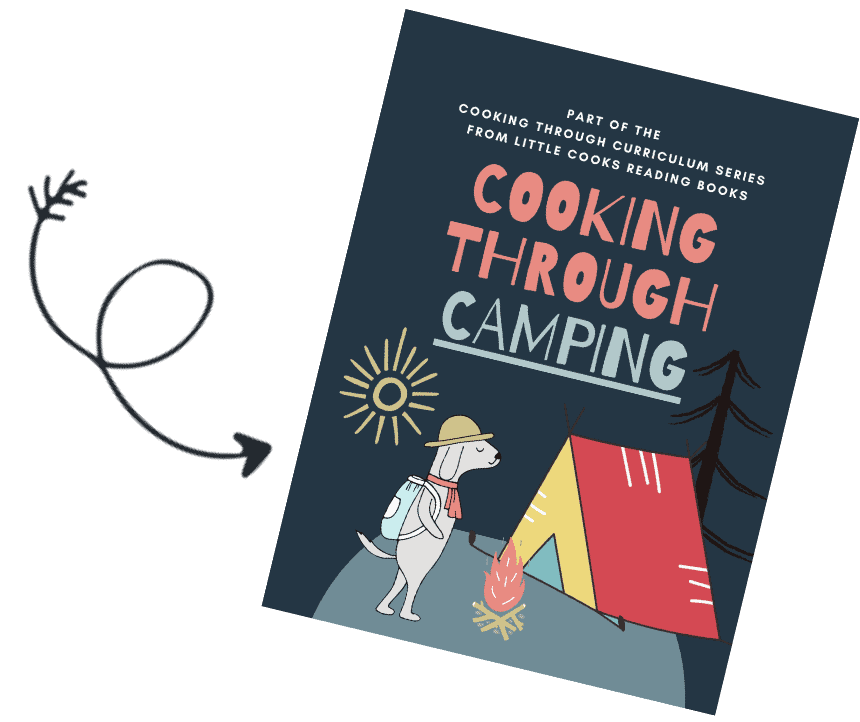 Cooking Through Camping Printable Pack cover