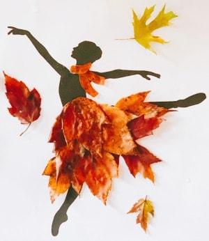 Leaf Dancers Craft