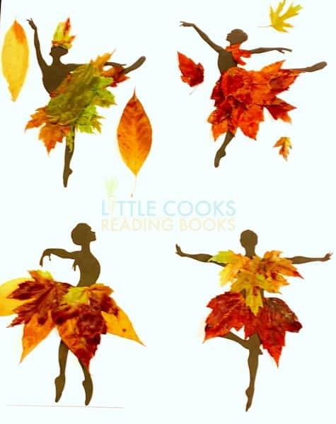 Wax Leaves Craft Dancers