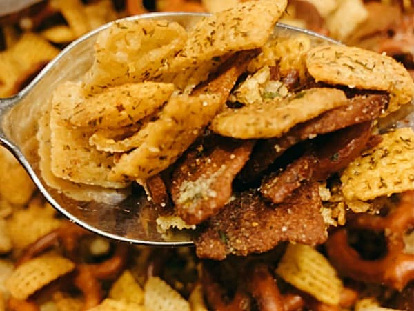 Dill Pickle Party Mix