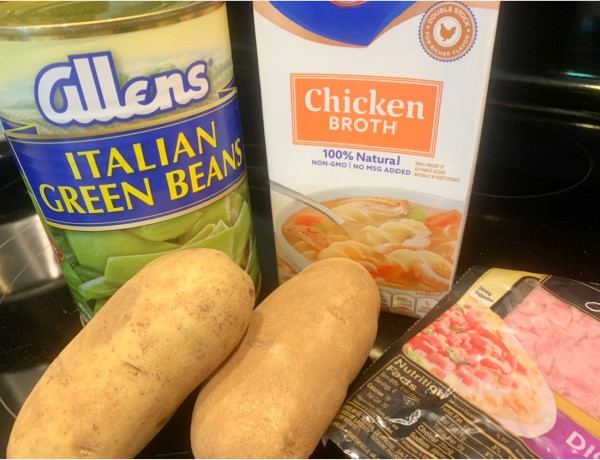 green beans ham and potatoes in crock pot recipe