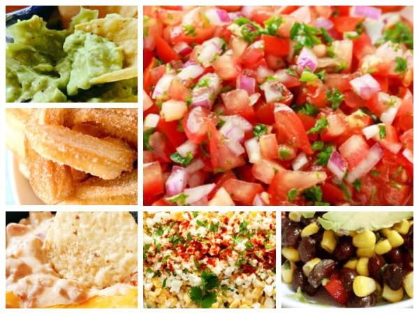 Cinco de Mayo Recipe Ideas different Mexican food dish recipes collage