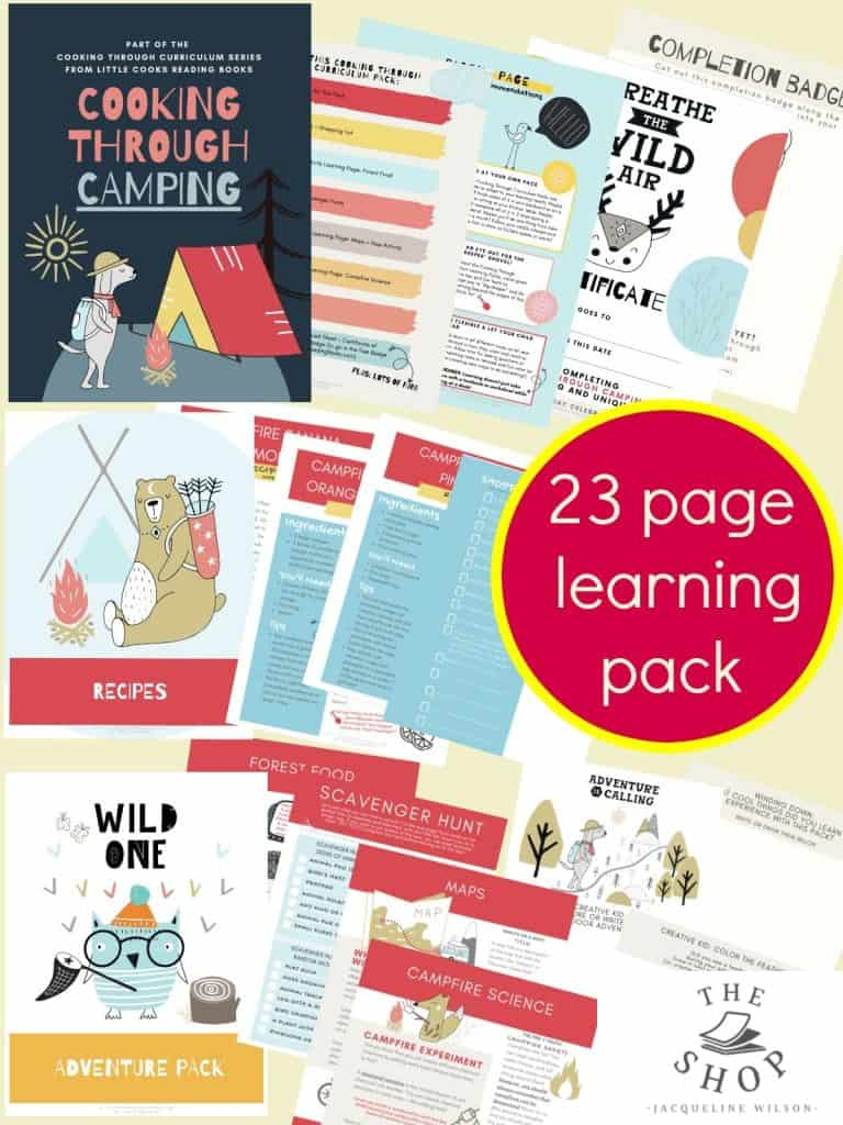 Camping Activities for Kids Printable