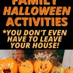 Fun Family Halloween Activities