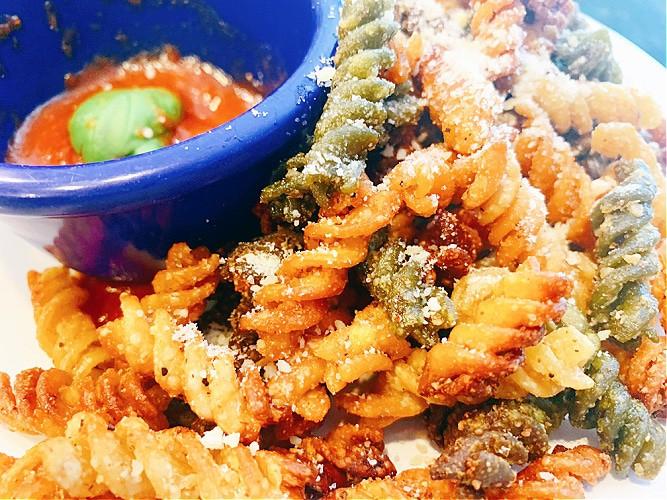 Air Fry Pasta Chips