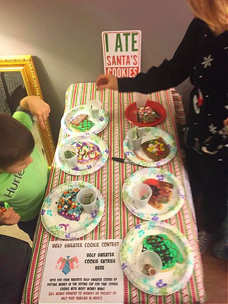 Christmas cookie party ideas for charity