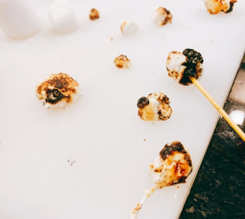 How To Toast the Indoor S'mores Marshmallows