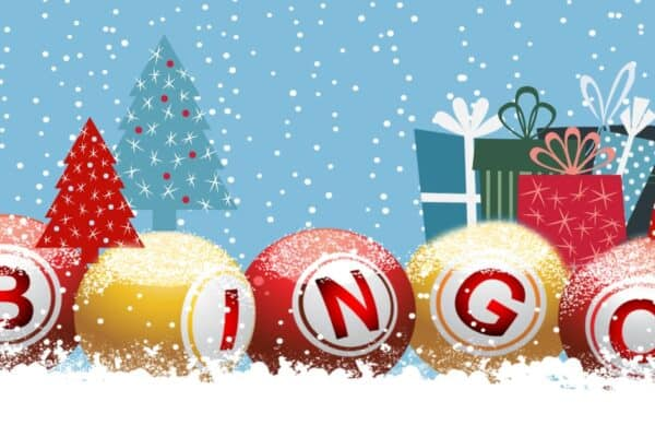 Christmas gift exchange bingo